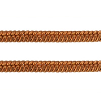 Brass Chain, rose gold color plated, herringbone chain, nickel, lead & cadmium free, 1.80mm, 100m/Lot, Sold By Lot