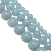 Gemstone Jewelry Beads, Round, natural, different size for choice, Sold By Lot