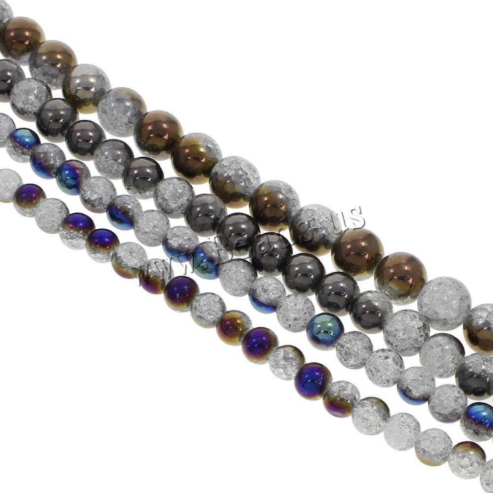 crackle quartz beads round more colors for choicchina