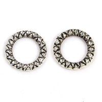 Zinc Alloy Linking Ring Donut antique silver color plated lead   cadmium free 13x2mm Hole:Approx 8mm 100G/Bag
