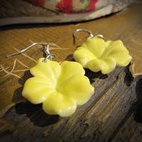 Серьги из фарфора, фарфор, железо крюк, Форма цветка, покрытый глазурью, 10-20mm, продается Пара