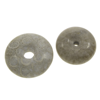 Natural Jade Pendants, Chrysanthemum Stone, Donut, 25x8mm-37x8mm, Hole:Approx 2-8mm, Sold By PC
