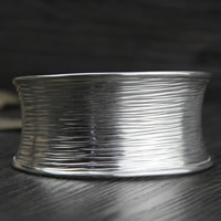 925 Sterling Silver Cuff Bangle, 35mm, Inner Diameter:Approx 50mm, Length:Approx 6 Inch, Sold By PC