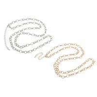 Железо Ожерелье цепь, с 7cm наполнитель цепи, Другое покрытие, Овальный цепь, Много цветов для выбора, не содержит свинец и кадмий, 7x9x1.50mm, Продан через Приблизительно 29.5 дюймовый Strand