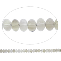 Natural Smoky Quartz Beads, Rondelle, Grade AAA, 9x6mm, Hole:Approx 1.5mm, Approx 115PCs/Strand, Sold Per Approx 15 Inch Strand