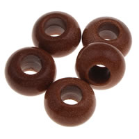 Goldstone Large Hole Bead, Rondelle, natural, 12x8mm, Hole:Approx 4.5mm, 10PCs/Bag, Sold By Bag