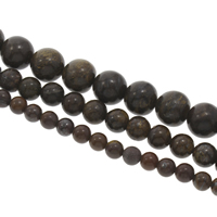 Tiger Iron Beads, Round, different size for choice, Hole:Approx 1mm, Sold Per Approx 15 Inch Strand