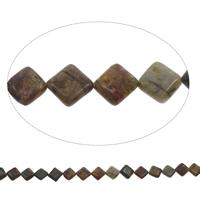 Perle agate indienne naturelle , losange, 14x4mm, Trou:Environ 1mm, Environ 27PC/brin, Vendu par Environ 15 pouce brin