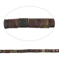 Prirodni indijski ahat perle, Indijski Agate, Trg, 13x5mm, Rupa:Približno 1mm, Približno 32računala/Strand, Prodano Per Približno 15 inčni Strand