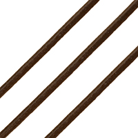 Cowhide Cord, red coffee color, nickel, lead & cadmium free, 2mm, Length:Approx 100 m, Sold By PC
