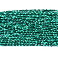 Malachite Beads, Round, different size for choice, Hole:Approx 0.5mm, Length:Approx 16 Inch, Sold By Lot