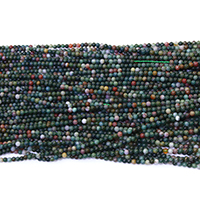 Indian Agate Beads, Round, natural, different size for choice, Hole:Approx 0.5mm, Length:Approx 16.5 Inch, Sold By Lot