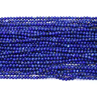 Natural Lapis Lazuli Beads, Round, different size for choice, Hole:Approx 0.5mm, Length:Approx 16 Inch, Sold By Lot