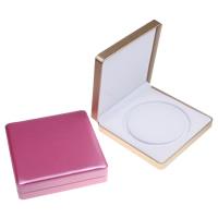 Kartonowe pudełko na naszyjnik, Tektura, ze PU & Welwet, Prostokąt, dostępnych więcej kolorów, 190x45x195mm, sprzedane przez PC