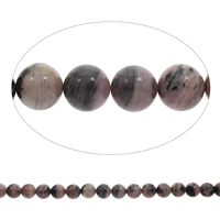 Natural Rhodonite Beads, Round, 16mm, Hole:Approx 1.5mm, Length:Approx 15.5 Inch, 5Strands/Bag, Approx 25PCs/Strand, Sold By Bag