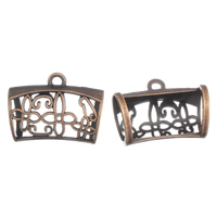 Zinc Alloy Scarf Slide Bail, antique copper color plated, lead & cadmium free, 44x34x26mm, Hole:Approx 3mm, 21mm, Sold By PC