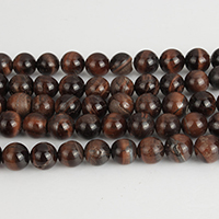 Natural Tiger Eye Beads, Round, 10mm, Hole:Approx 1.5mm, Approx 39PCs/Strand, Sold Per Approx 15 Inch Strand