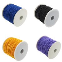 Nici elastyczne, Elastyczny sznur, ze Szpulka plastikowa, dostępnych więcej kolorów, 1mm, 50m/szpula, sprzedane przez szpula