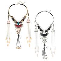 Мода себе ожерелье, цинковый сплав, с PU шнур & Кристаллы & канифоль, с 2.7lnch наполнитель цепи, Другое покрытие, граненый, Много цветов для выбора, не содержит никель, свинец, Продан через Приблизительно 16.5 дюймовый Strand