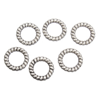 Zinc Alloy Linking Ring Donut antique silver color plated lead   cadmium free 11x2.5mm Hole:Approx 7mm 100G/Bag