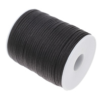 Nylon Cord with plastic spool black 3x1mm Approx 100Yards/PC