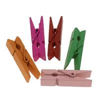 деревянный Клип, с цинковый сплав, разный размер для выбора, 1000ПК/сумка, продается сумка