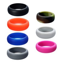 Unisex Finger Ring Silicone 8mm