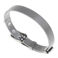 Men Bracelet, Stainless Steel, original color, 8mm, Sold Per Approx 8 Inch Strand