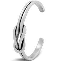 титан браслет-манжеты, Женский & чернеют, внутренний диаметр:Приблизительно 41mm, длина:Приблизительно 5.1 дюймовый, 3ПК/Лот, продается Лот
