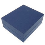 Cardboard Pendant Box, Rectangle, blue, 70x80x30mm, Sold By PC