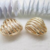 24K золото бисера, Латунь, Сердце, Позолоченные 24k, отверстие, не содержит свинец и кадмий, 16x9mm, отверстие:Приблизительно 1-2mm, 10ПК/сумка, продается сумка
