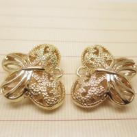 24K золотой кулон, Латунь, бабочка, Позолоченные 24k, отверстие, не содержит свинец и кадмий, 16x19mm, отверстие:Приблизительно 1-2mm, 10ПК/сумка, продается сумка