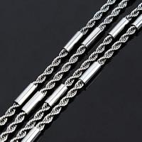 Łańcuch Lina ze stali nierdzewnej, Stal nierdzewna, lina łańcucha, oryginalny kolor, 2.3mm, 2m/torba, sprzedane przez torba