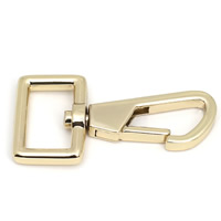 Zinc Alloy Lobster Swivel Clasp KC gold color plated lead   cadmium free 45.6mm Hole:Approx 16mm 50PCs/Bag