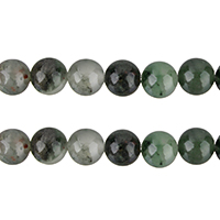 African Bloodstone Beads, Round, natural, different size for choice, Grade AB, Hole:Approx 1mm, Length:Approx 15 Inch, Sold By Lot
