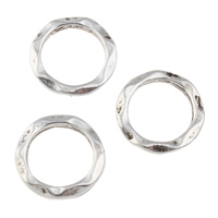 Zinc Alloy Linking Ring antique silver color plated lead   cadmium free 14x1.5mm Hole:Approx 11mm 100PCs/Bag