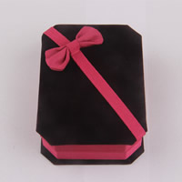 Velveteen Bracelet Box, with Cardboard, Rectangle, 100x70x30mm, Sold By PC