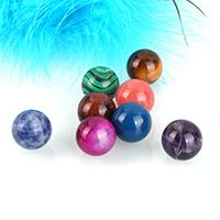 Perline gioielli gemme, pietra preziosa, Cerchio, naturale, materiali diversi per la scelta & non forato, 16mm, Venduto da PC