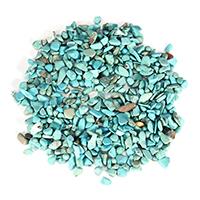 Синтетическая бирюза кабошон, Комкообразная форма, 2-15x3-9x4-9mm, продается KG