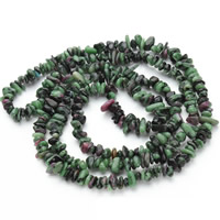 Natural Unakite Beads, Nuggets, 5-8mm, Hole:Approx 1.5mm, Approx 120PCs/Strand, Sold Per Approx 31 Inch Strand