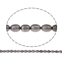 Clearance Freshwater Pearl Beads, Rice, 9-10mm, Hole:Approx 0.8mm, Sold Per Approx 15.5 Inch Strand