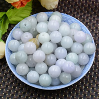 Natural Jadeite Beads, Round, 12-3mm, Hole:Approx 0.8-1mm, 10PCs/Lot, Sold By Lot