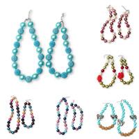 Акриловые ожерелья, Акрил, с канифоль, Круглая, для детей & разные стили для выбора & Женский, 20mm, длина:Приблизительно 14 дюймовый, Приблизительно 18 дюймовый, продается указан