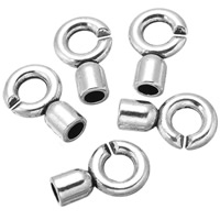 Zinc Alloy Jewelry Clasp, antique silver color plated, lead & cadmium free, 20x13mm, Hole:Approx 4.2, 5.8mm, 300PCs/Bag, Sold By Bag