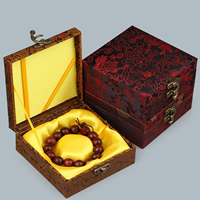Cardboard Bracelet Box, with Satin & Zinc Alloy, Square, different designs for choice, 120x120x47mm, 10PCs/Lot, Sold By Lot