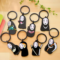 Key Chain Plastic with iron ring different styles for choice   enamel 80x25mm