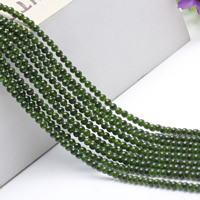 Natural Jade Beads Green Calcedony Round 4mm Length:Approx 15.5 Inch Approx 2Strands/Bag Approx 95PCs/Strand