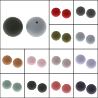 Plastic Beads PE Foam Round Hole:Approx 1mm