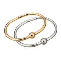 Пара браслет и браслет, нержавеющая сталь, Другое покрытие, Женский, Много цветов для выбора, 9.5mm, 4mm, внутренний диаметр:Приблизительно 59.5x43mm, продается PC