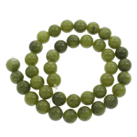 Nanyang Jade Beads Round Hole:Approx 1mm Sold Per Approx 15 Inch Strand